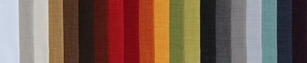 TISSU ASPECT LIN ANTI TACHES TEFLON Laize 160 et existe en 320cm 100% Polyester