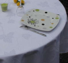 TISSU LAURAMAR ANTI TACHES TEFLON Laize 280cm 100% Polyester