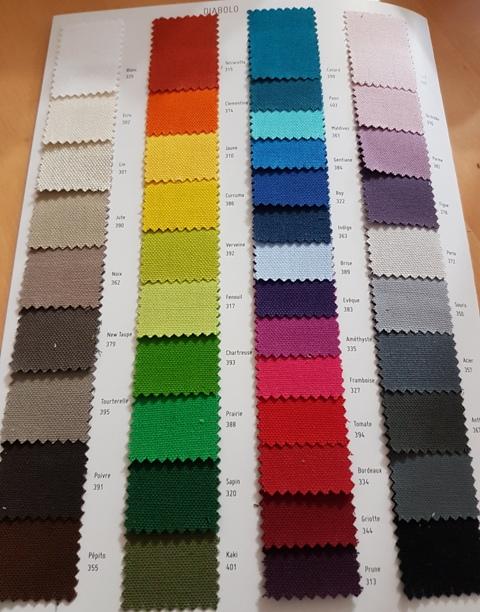 nappe sur mesure 100 coton unie traitee teflon poids env 235gr m2 laize 280cm propuls par. Black Bedroom Furniture Sets. Home Design Ideas