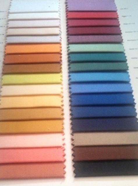 Nappe sur mesure,tissu 100% Coton ou POLYCOTON laize 280 A 350 cm