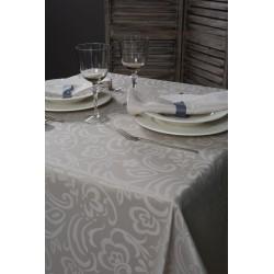 Nappes sur mesure,serviettes,Gamme MINERVA 100%Polyester laize 320cm