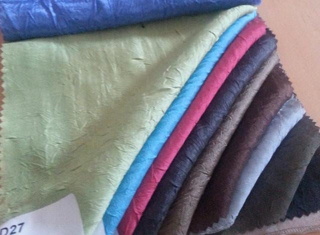 TISSU SATIN FROISSE 100% Polyester existe dans plusieurs  Laize 300cm