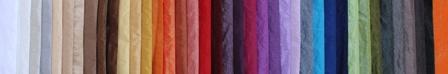 Nappe sur mesure Gamme TAFFETAS 100% Polyester laize 300cm disponible dans de nombreux coloris