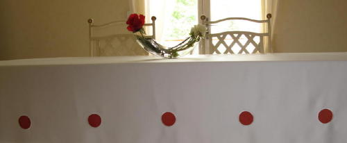nappes taffetas 100% polyester, super qualité, reflets soyeux - Env. 140X240cm