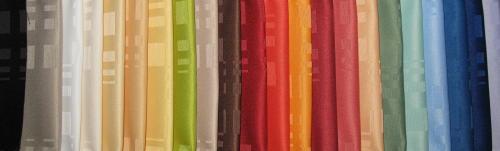 Serviettes de table sur mesure,anti taches téflon choix dans nos tissus