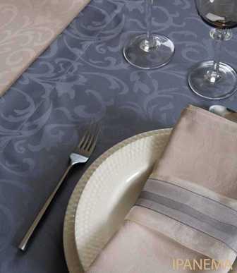 Serviettes de table  sur mesure tissu 100% Coton, poly-coton