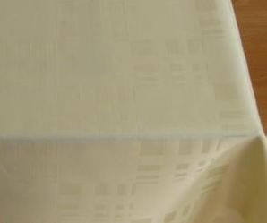 NAPPE SUR MESURE GAMME MELINA QUADRO anti taches teflon Laize 180cm dans certains coloris