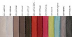Gamme FLO ANTI TACHES TEFLON 100%polyester laize 160cm