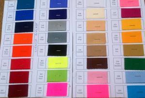 LYCRA DE QUALITE Vendu sur plaquette env 10m par coloris laize 150cm